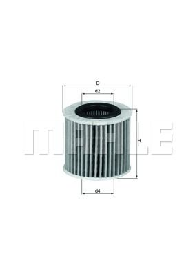 Filter ulja 111604 - Toyota