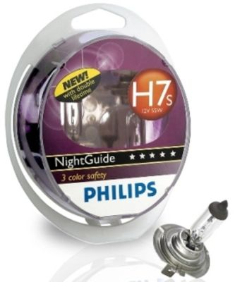 Par žarulja Philips 12V H7s 55W Night Guide