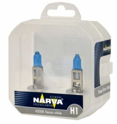 TWIN SET žarulja NARVA H1 RANGE POWER WHITE