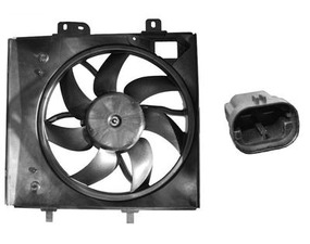 Ventilator hladnjaka Citroen C3 02- (340mm)